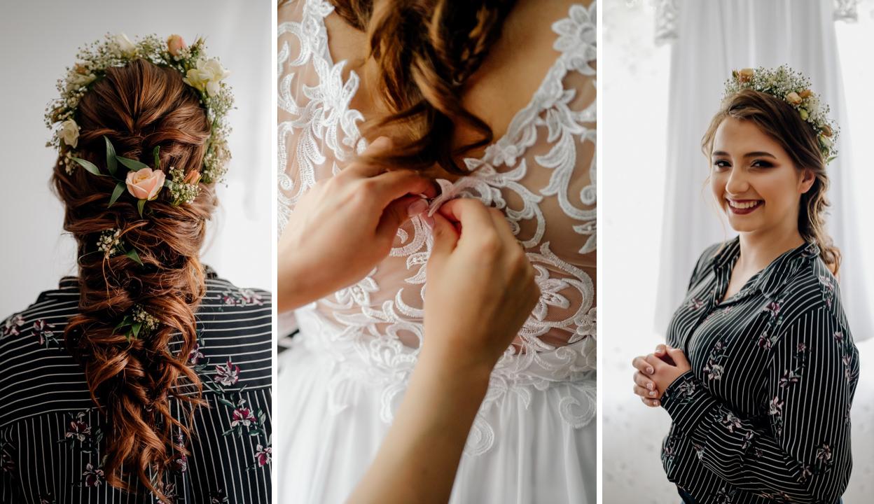 6 podstawowych czynności, aby fryzura ślubna oczarowała gości